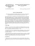 CHƯƠNG TRÌNH PHỐI HỢP SỐ 595/CTPH-TLĐ-TƯĐTN