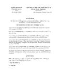 Quyết định số 630/QĐ-UBND