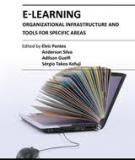 E-Learning-Organizational Infrastructure and Tools for Specific Areas