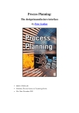 Process Planning: The design / manufacture interface by Peter Scallan