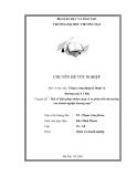 Luận văn về:  Một số biện pháp nhằm củng cố và phát triển thị trường của doanh nghiệp thương mại