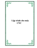 Lập trình cho máy CNC