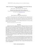 Nghiên cứu ảnh hưởng của một số yếu tố cố định đến sản lượng sữa đàn bò HF lai hạt nhân và cấp I Việt Nam