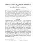 Nghiên cứu tác ụng của Zeolit trong thức ăn chăn nuôi lợn