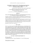 ẢNH HƯỞNG CỦA PHƯƠNG THỨC NUÔI KHÔ ĐẾN KHẢ NĂNG SINH TRƯỞNG VÀ SINH SẢN CỦA VỊT CV- SUPER M VÀ CV-2000 TẠI TRẠI VỊT GIỐNG VIGOVA