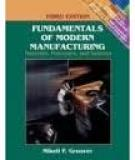 Solutions Of Fundamentals of Modern Manufacturing