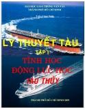 Tập 1 Tĩnh học động lực học tàu thủy