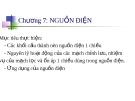 Bài giảng điện tử cơ bản - Chương 7
