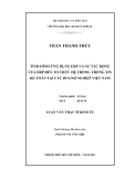 Luận văn:  TÌNH HÌNH ỨNG DỤNG ERP VÀ SỰ TÁC ĐỘNG CỦA ERP ĐẾN TỔ CHỨC HỆ THỐNG THÔNG TIN KẾ TOÁN TẠI CÁC DOANH NGHIỆP VIỆT NAM