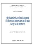 Luận văn:  Một số giải pháp nâng cao năng lực cạnh tranh của công ty Travel Indochina trong thu hút khách vào Việt Nam giai đoạn 2011 - 2015
