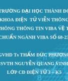 HỆ THÔNG THÔNG TIN VIBA VỆ TINH TIÊU CHUẨN NGÀNH VIBA