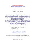 Đề tài : Các giải pháp phát triển nghiệp vụ bảo hiểm hàng hải cho các công ty bảo hiểm Việt Nam trong thời kỳ hậu WTO