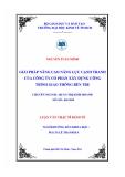 Đề tài: GIẢI PHÁP NÂNG CAO NĂNG LỰC CẠNH TRANH CỦA CÔNG TY CỔ PHẦN XÂY DỰNG CÔNG TRÌNH GIAO THÔNG BẾN TRE