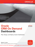 Oracle CRM On Demand Dashboard