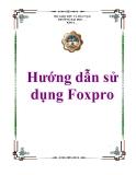 Hướng dẫn sử dụng Foxpro