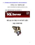 Quản trị Cơ sở dữ liệu SQL Server