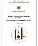 Sách hướng dẫn công nghệ chế biến dầu