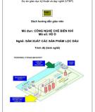 Sách hướng dẫn giáo viên: Công nghệ chế biến khí (Dự án giáo dục kỹ thuật và dạy nghề)