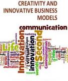 ENTREPRENEURSHIP – CREATIVITY AND INNOVATIVE BUSINESS MODELS