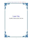 Luận Văn: Tìm hiểu về công cụ tỷ giá ở Việt Nam
