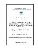 Luận văn: GIẢI PHÁP HẠN CHẾ RỦI RO TRONG THANH TOÁN QUỐC TẾ TẠI NGÂN HÀNG THƯƠNG MẠI CỔ PHẦN XUẤT NHẬP KHẨU VIỆT NAM
