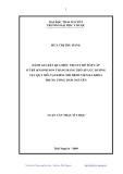 Luận văn: ĐÁNH GIÁ KẾT QUẢ ĐIỀU TRỊ SUY HÔ HẤP CẤP Ở TRẺ SƠ SINH NON THÁNG BẰNG THỞ ÁP LỰC DƢƠNG TỤC QUA MŨI TẠI KHOA NHI BỆNH VIỆN ĐA KHOA TRUNG ƯƠNG THÁI NGUYÊN