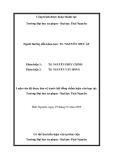 Luận văn: RÈN LUYỆN CHO HỌC SINH DÂN TỘC THIỂU SỐ KĨ NĂNG KHAI THÁC KÊNH HÌNH VÀ TỰ XÂY DỰNG MỘT SỐ DẠNG KÊNH HÌNH ĐƠN GIẢN GÓP PHẦN NÂNG CAO CHẤT LƯỢNG DẠY HỌC SINH HỌC 11 (BAN CƠ BẢN)