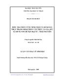 Luận văn: ĐIỀU TRA PHÂN VÙNG SINH THÁI VÀ ĐÁNH GIÁ THỰC TRẠNG KHAI THÁC CÂY THỨC ĂN GIA SÚC XÃ HÙNG SƠN HUYỆN ĐẠI TỪ - THÁI NGUYÊN