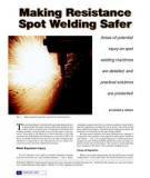 Handbook For Resistance Spot Welding Description
