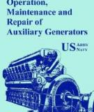 Army TM Operation, Maintenance and Repair of Auxiliary Generators
