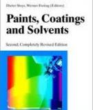 Wiley - VCH Dieter Stoye, Werner Freitag Editors Paints, Coatings and Solvents