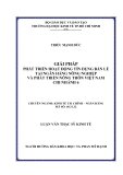 Đề tài: GIẢI PHÁP PHÁT TRIỂN HOẠT ĐỘNG TÍN DỤNG BÁN LẺ TẠI NGÂN HÀNG NÔNG NGHIỆP VÀ PHÁT TRIỂN NÔNG THÔN VIỆT NAM CHI NHÁNH 6 CHUYÊN