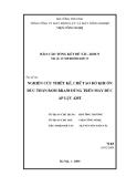 Báo cáo: Nghiên cứu thiết kế, chế tạo bộ khuôn đúc thân bơm BRA50 dùng trên máy đúc áp lực 420T