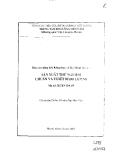 Báo cáo: Sản xuất thử nghiệm chuẩn và thiết bị đo lường