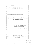 Báo cáo: Tập các bản vẽ thiết kế về tua bin tia nghiêng 500 W