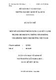 """đề tài:"""" MỘT SỐ GIẢI PHÁP NHẰM NÂNG CAO SỨC CẠNH TRANH CHO DỊCH VỤ THÔNG TIN DI ĐỘNG VINAPHONE TRÊN THỊ TRƯỜNG VIỆT NAM"""""""