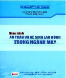 Giáo trình An toàn và vệ sinh lao động trong ngành may - ThS. Nguyễn Thị Mỹ Linh (chủ biên) (ĐH Công nghiệp TP.HCM)