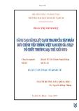 """đề tài: """" nâng cao năng lực cạnh tranh của tập đoàn bưu chính viễn thông việt nam khi gia nhập tổ chức thương mại thế giới WTO"""""""