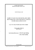 Luận văn: NGHIÊN CỨU KHẢ NĂNG SINH TRƢỞNG, PHÁT TRIỂN MỘT SỐ DÒNG ĐẬU TƢƠNG NHẬP NỘI TỪ AUSTRALIA NĂM 2005 -2006 TẠI THÁI NGUYÊN