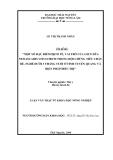 Luận văn: MỘT SỐ ĐẶC ĐIỂM DỊCH TỄ, VAI TRÒ CỦA GIUN ĐŨA NEOASCARIS VITULORUM TRONG HỘI CHỨNG TIÊU CHẢY BÊ, NGHÉ DƢỚI 3 THÁNG TUỔI Ở TỈNH TUYÊN QUANG VÀ BIỆN PHÁP ĐIỀU TRỊ