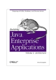 Building Java™ Enterprise Applications Volume I: Architecture