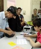 Giám định để thực hiện chế độ hưu trước tuổi quy định (trường hợp người lao động đang bảo lưu thời gian đóng BHXH) (được thay thế so với lần công bố trước theo quy định tại Khoản 2, Điều 5 Thông tư số 07/2010/TT-BYT ngày 05/4/2010 của Bộ Y tế)