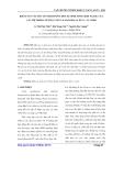 Báo cáo khoa học:Khảo sát vài yếu tố ảnh hưởng đến sự sinh tổng hợp taxol của các hệ thống tế bào taxus