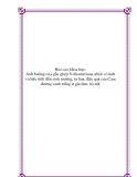 Báo cáo khoa học: Ảnh hưởng của gốc ghép Volkameriana nhân vô tính và hữu tính đến sinh trưởng, ra hoa, đậu quả của Cam đường canh trồng ở gia lâm, hà nội