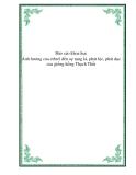Báo cáo khoa học:  Ảnh hưởng của ethrel đến sự rụng lá, phát lộc, phát dục của giống hồng Thạch Thất