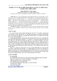 Báo cáo khoa học: Nghiên cứu sử dụng thiết bị Soxhlet-vi sóng ly trích một số hợp chất thiên nhiên