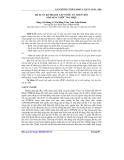 Báo cáo khoa học: Đề xuất kế hoạch cấp nước an toàn cho nhà máy nước Tân Hiệp