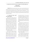 Báo cáo khoa học: An ninh con người và sự bất an trong cuộc sống hôm nay
