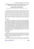 Báo cáo khoa học: Xác định hàm lượng vết chì sử dụng vi điện cực vàng màng thủy ngân và vi điện cực vàng màng Bismuth