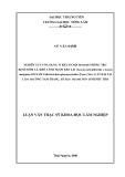 Luận văn: NGHIÊN CỨU ỨNG DỤNG VI KHUẨN NỘI SINH ĐỂ PHÒNG TRỪ BỆNH ĐỐM LÁ, KHÔ CÀNH NGỌN KEO LAI (Acacia auriculiformis x Acacia mangium) DO NẤM COLLETOTRICHUM GLOEOSPORIOIDES (PENZ.) SACC. G ÂY HẠI TẠI LÂM TRƯỜNG TAM THẮNG , HUYỆN THANH SƠN TỈNH PHÚ THỌ